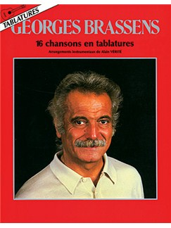 Georges Brassens: 16 Chansons en Tablatures Livre | Tablature Guitare