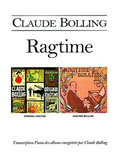 Claude Bolling: Ragtime Books | Piano