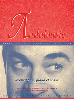 Francis Lopez: Andalousie (PVG) Books | Piano, Vocal & Guitar