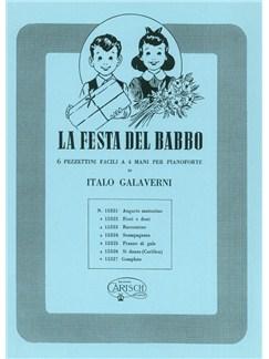 Italo Galaverni: La Festa Del Babbo Books | Piano Duet