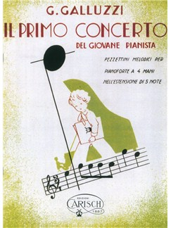 G. Galluzzi: Il Primo Concerto - Del Giovane Pianista (Vol.VI) Livre | Piano Duo