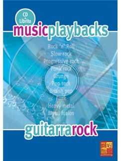 Music Playbacks CD: Guitarra Rock (Spanish) Books and CDs | Guitar