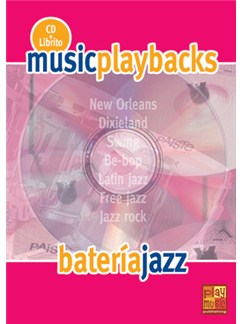 Music Playbacks CD: Batería Jazz (Spanish) Books and CDs | Drums