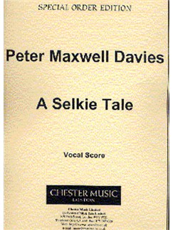 Peter Maxwell Davies: A Selkie Tale Vocal Score Books | Voice