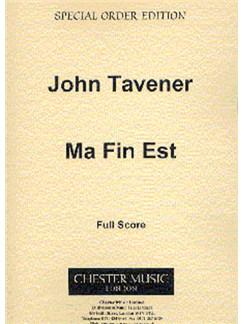 John Tavener: Ma Fin Est Books | Brass Ensemble, Percussion