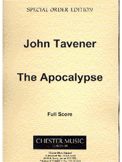 John Tavener: The Apocalypse (Full Score) Books | Soprano, Tenor, Bass, Percussion, Cello, Trumpet (3), Trombone (3)