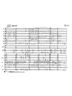 Michael Nyman: The Masque (Score) Books | Soprano (Duet), Alto, Ensemble