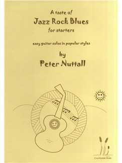 Peter Nuttall: A Taste Of Jazz Rock Blues For Starters Books | Guitar