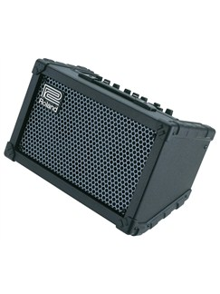 Roland: CUBE STREET Battery Powered Stereo Amplifier (Black)  | Voice, Electric Guitar