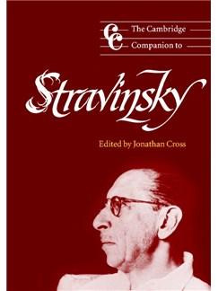 The Cambridge Companion To Stravinsky Books |