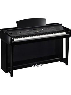 Yamaha: Clavinova CVP-605 Digital Piano - Polished Ebony Instruments | Digital Piano