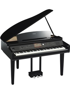 Yamaha: CVP709GP Grand Piano - Polished Ebony Instruments | Digital Piano