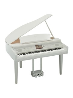 Yamaha: CVP709GP Grand Piano - Polished White Instruments | Digital Piano