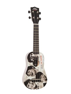 The Cavern Club Ukulele Outfit: The Beatles Fab Faces Instruments | Ukulele