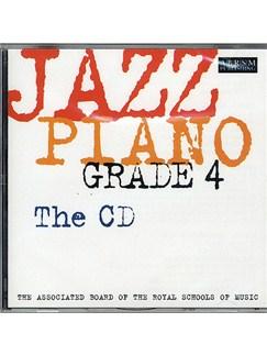 ABRSM Jazz Piano: Grade 4 (CD) CDs | Piano