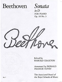 Ludwig Van Beethoven: Sonata In D For Piano Op.10 No.3 Books | Piano