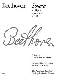 Ludwig Van Beethoven: Sonata In B Flat Op.22 Books | Piano