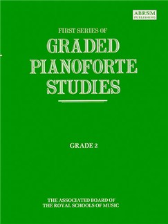 First Series Of Graded Pianoforte Studies: Grade 2 Books | Piano
