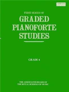 First Series Of Graded Pianoforte Studies: Grade 4 Books | Piano