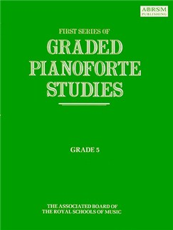 First Series Of Graded Pianoforte Studies: Grade Five Books | Piano