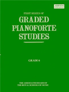 First Series Of Graded Pianoforte Studies: Grade 6 Books | Piano