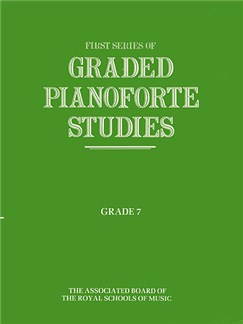 First Series Of Graded Pianoforte Studies: Grade 7 Books | Piano