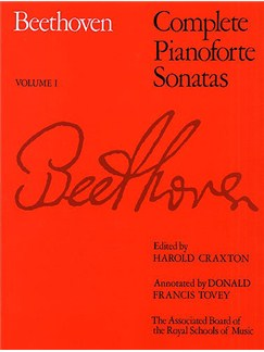 Beethoven: Complete Pianoforte Sonatas - Volume I (ABRSM Edition) Books | Piano