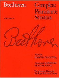 Beethoven: Complete Pianoforte Sonatas - Volume II (ABRSM Edition) Books | Piano