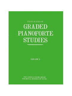 First Series Of Graded Pianoforte Studies: Grade 3 Books | Piano