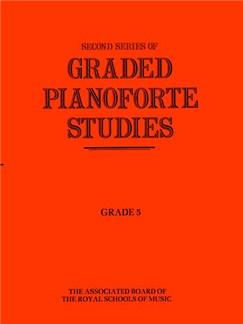 Second Series Of Graded Pianoforte Studies: Grade 5 Books | Piano