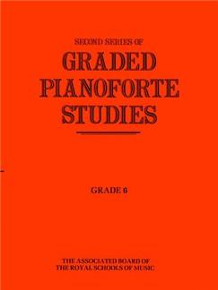 Second Series Of Graded Pianoforte Studies: Grade 6 Books | Piano