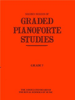 Second Series Of Graded Pianoforte Studies - Grade Seven Books | Piano