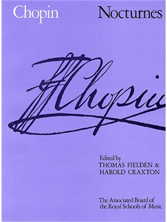 Frederic Chopin: Nocturnes For Piano Solo Books | Piano