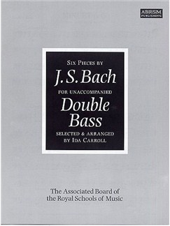 J.S. Bach: Six Pieces For Unaccompanied Double Bass Books | Double Bass