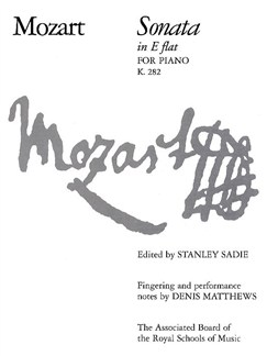 W.A. Mozart: Sonata In E Flat For Piano K.282 Books | Piano