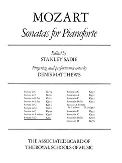 W.A. Mozart: Sonata In D For Piano K.311 (ABRSM) Books | Piano