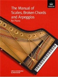 The Manual Of Scales, Broken Chords And Arpeggios For Piano Books | Piano