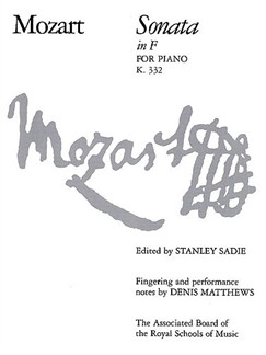 W.A.Mozart: Sonata In F K.332 Books | Piano