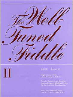 The Well-Tuned Fiddle - Book 2 Books | Violin, Piano Accompaniment