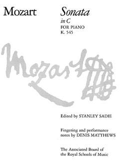 Mozart: Sonata C K.545 Piano Books | Piano