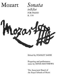 W.A. Mozart: Sonata For Piano In B Flat K.570 Books | Piano