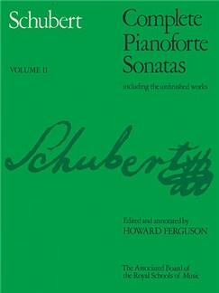 Franz Schubert: Complete Piano Sonatas - Volume II (ABRSM) Books | Piano