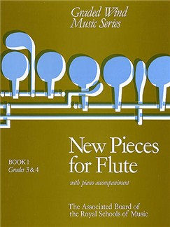 New Pieces for Flute Book I Books | Flute, Piano Accompaniment