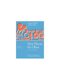 New Pieces for Oboe: Book II  - Grades 5 & 6 Books | Oboe, Piano Accompaniment
