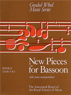 New Pieces for Bassoon Book II Books | Bassoon, Piano Accompaniment