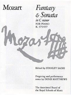 W. A. Mozart: Fantasy And Sonata In C Minor For Piano K.475/457 Books | Piano