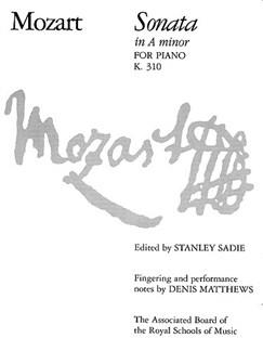 W.A. Mozart: Sonata In A Minor K.310 Books | Piano