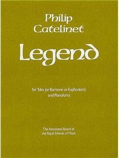 Philip Catelinet: Legend Books | Tuba, Piano Accompaniment