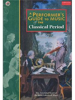 A Performer's Guide To Music Of The Classical Period Books and CDs |