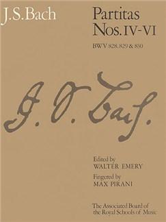 J.S. Bach: Partitas - Nos. IV-VI (ABRSM) Books | Piano